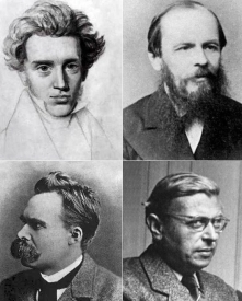 kierkegaard-dostoyevsky-nietzsche-sartre